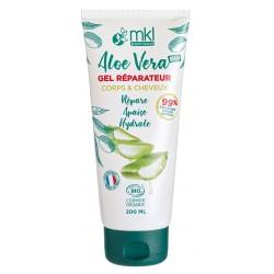 Gel réparateur corps Aloe Vera -200ml MKL Green nature - 1