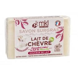 SAVON LAIT DE CHEVRE Douceur de lait - 100g MKL Green nature - 1