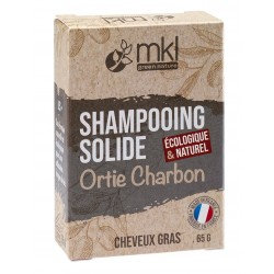 Shampoing Solide - Orties et Charbon MKL Green nature - 1