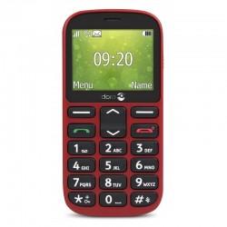 Téléphone Mobile plat DORO 1361 - rouge