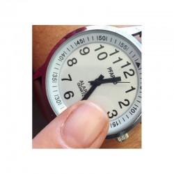 Montre parlante Touch - Bracelet métal extensible