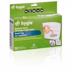 Enveloppes hygiéniques® / sac vomitoire pour support (carton 12 paquets de 10 sacs)