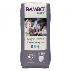 Abena Bambo Dreamy - Couches culottes énurésie fille - 4-7 ans  - 1