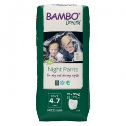 Abena Bambo Dreamy - Couches culottes énurésie garçon - 4-7 ans Abena BAMBO Nature - 1