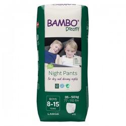 Abena Bambo Dreamy - Couches culottes énurésie garçon - 8-15 ans Abena BAMBO Nature - 1