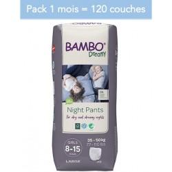 Abena Bambo Dreamy - Couches culottes énurésie fille - 8-15 ans - Pack 1 mois Abena BAMBO Nature - 1
