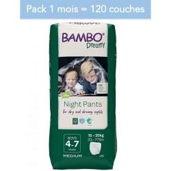 Abena Bambo Dreamy - Couches culottes énurésie garçon - 4-7 ans - Pack 1 mois Abena BAMBO Nature - 1