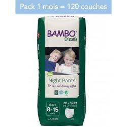 Abena Bambo Dreamy - Couches culottes énurésie garçon - 8-15 ans - Pack 1 mois Abena BAMBO Nature - 1