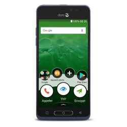 Smartphone Doro 8035, bleu foncé