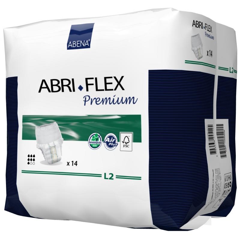 Slip Absorbant / Pants - Abri-Flex - L - N°2 - Pack de 4 sachets