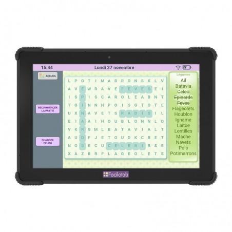 Tablette Facilotab L Onyx 10,1 pouces WiFi/4G - 32 Go