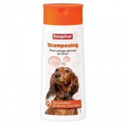 Shampooing Béaphar pour chien pelage abricot ou brun