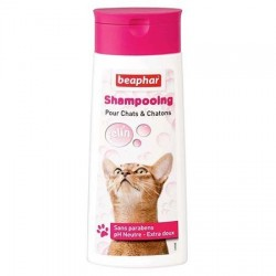 Shampooing Béaphar extra-doux pour chat