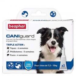 Béaphar - CANIguard, pipettes antiparasitaires pour chien