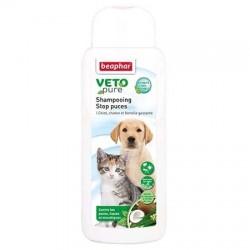 Shampooing Stop puces Béaphar pour chiot, chaton et femelle gestante