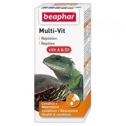 Multi-Vit Béaphar, vitamines pour reptiles