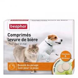 Comprimés levure de bière Béaphar pour chien et chat