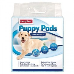 Puppy-Pads, tapis éducateur Béaphar pour chiot