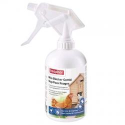 Spray stop poux rouges Béaphar pour poules