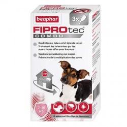 FIPROtec Combo, pipettes antiparasitaire Béaphar pour chien