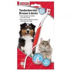 Brosse à dents haleine fraîche Béaphar pour chien et chat