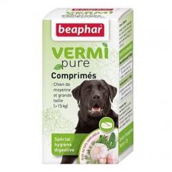 VERMIpure, comprimés aux plantes Béaphar pour chien (sup à 15kg)