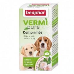 VERMIpure, comprimés aux plantes Béaphar pour chiot et petit chien