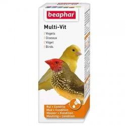 Multi-Vit Béaphar, vitamines pour oiseaux
