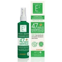 Bio Spray Assainissant aux 47 Huiles Essentielles biologiques - E2 Essentiel Elements