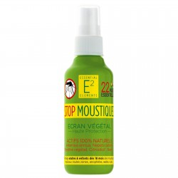 Spray Stop Moustique aux 22 Huiles Essentielles 100% naturelles - E2 Essentiel Elements
