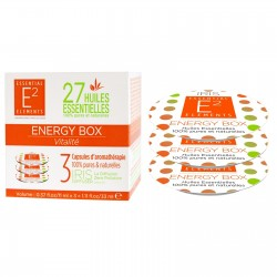 Capsules AROMA BOX ENERGY de E2 Essentiel Elements