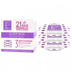 Capsules Aroma Sleep box aux 21 huiles essentielles de E2 Essentiel Elements
