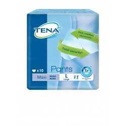 Slip Absorbant / Pants - TENA Pants L Maxi Tena Pants - 1
