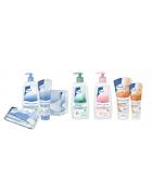 hygiène & soins: gel douche, mousse, shampoing,gants de toilette, bavoirs,cremes